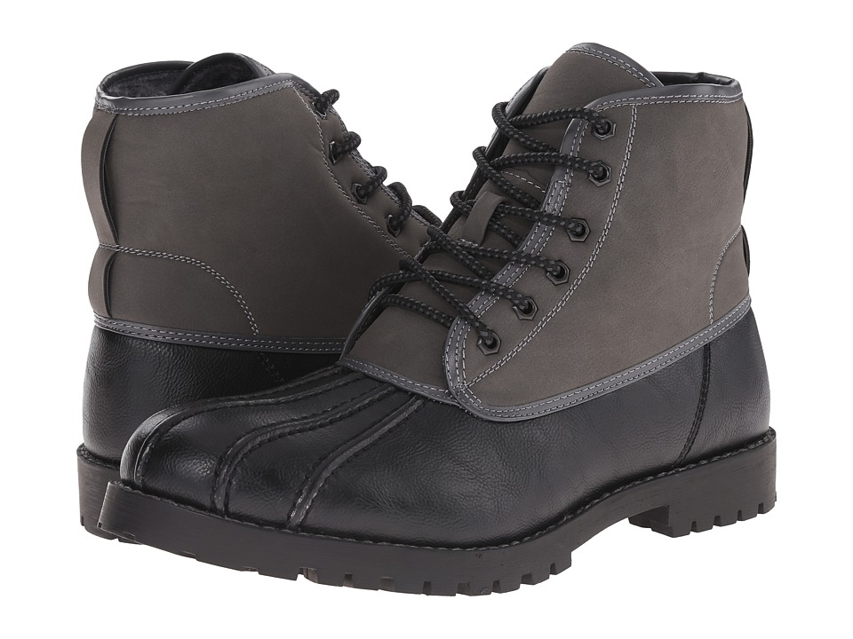 Steve Madden - Cruzer (Black/Grey) Men