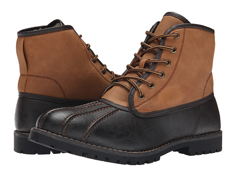 Steve Madden - Cruzer (Brown/Tan) Men's Lace-up Boots