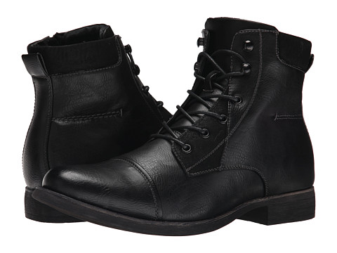 Steve Madden - Blades (Black) Men's Lace-up Boots