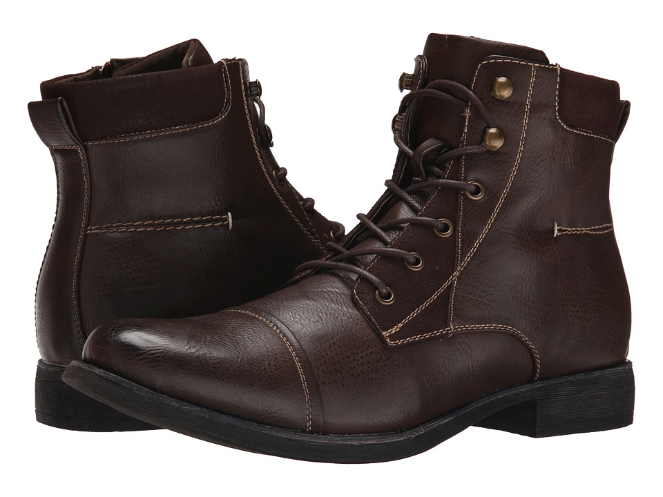 Steve Madden - Blades (Brown) Men's Lace-up Boots