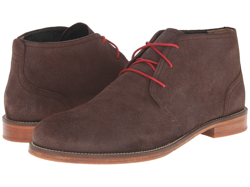 J. Shoes - Monarch Plus (Chocolate) Men's Lace-up Boots