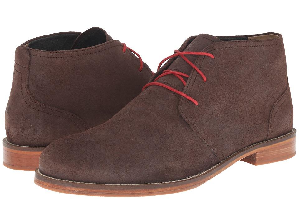 J. Shoes - Monarch Plus (Chocolate) Men's Lace-up Boots