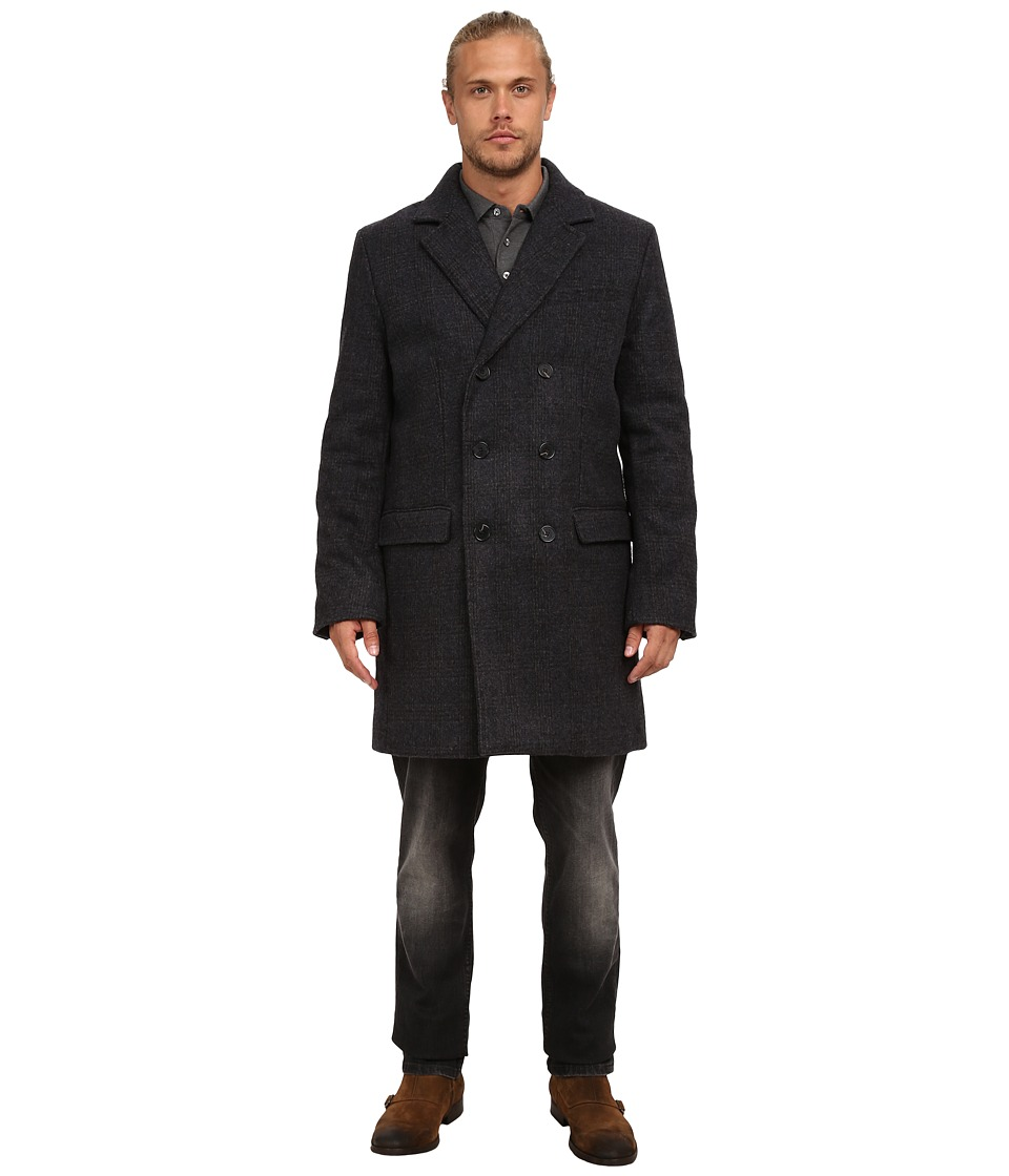 French Connection - Fine Tweed (Charcoal Melange Check) Men