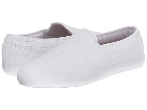 Lacoste - Gazon Sport PRM (White/White) Women