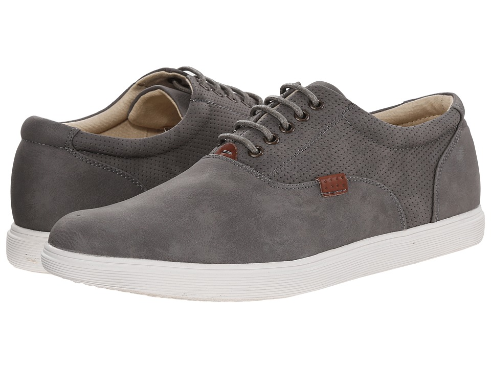 Steve Madden - Rickyy (Grey Nubuck) Men's Lace up casual Shoes