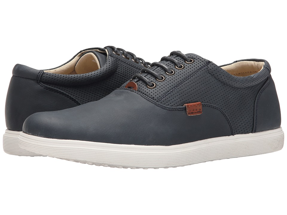 Steve Madden - Rickyy (Navy Nubuck) Men's Lace up casual Shoes