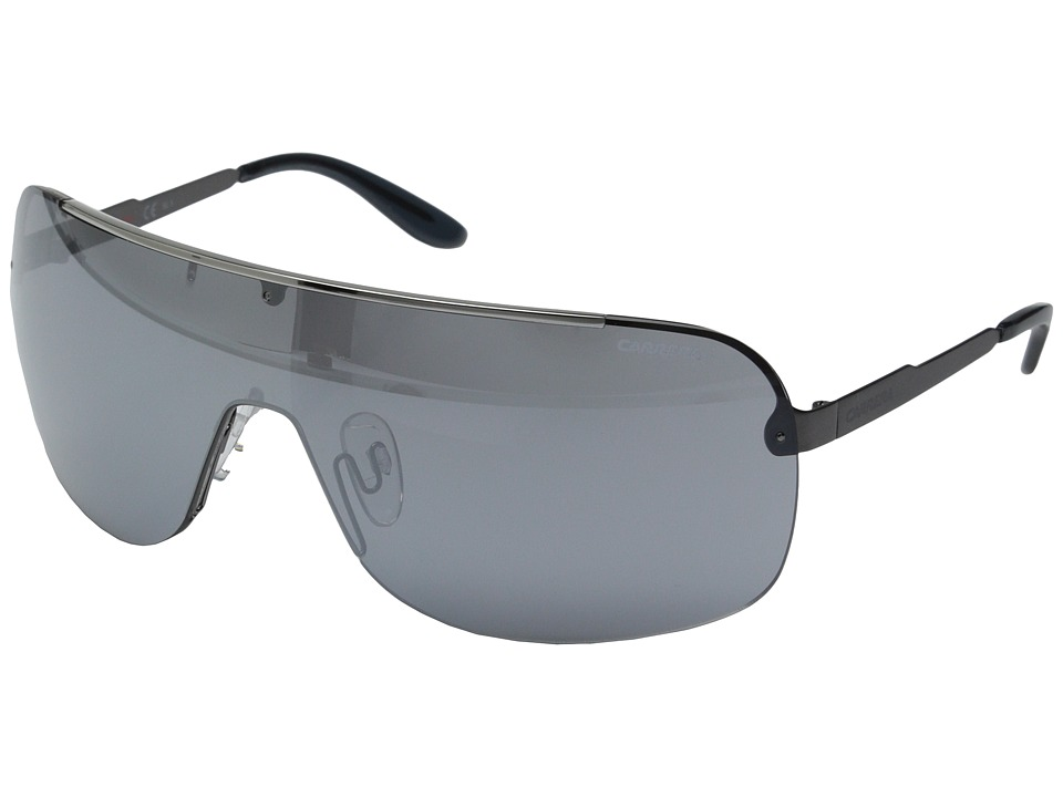 Carrera - Carrera 94/S (Ruthenium/Black Mirror) Fashion Sunglasses