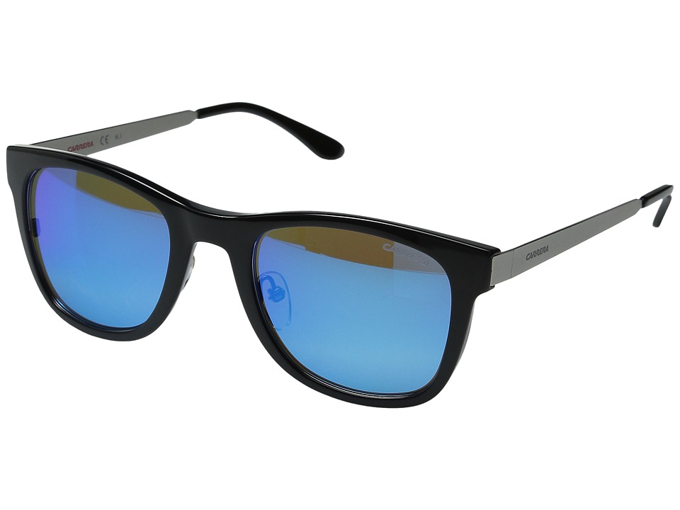Carrera - Carrera 5023/S interchangeable (Ruthenium Black Blue/Blue Turquoise) Fashion Sunglasses