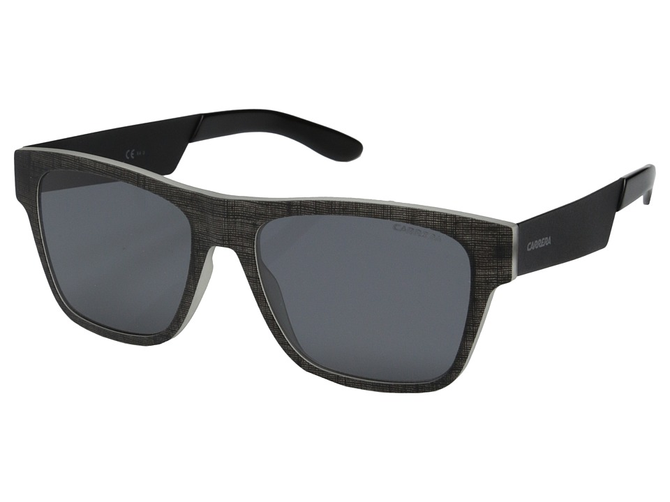 Carrera - Carrera 5002/TX/S (Black/Matte Black/Smoke) Fashion Sunglasses
