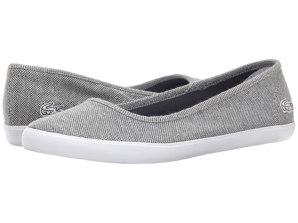 Lacoste - Marthe CRM (Black/Black) Women's Slip on Shoes