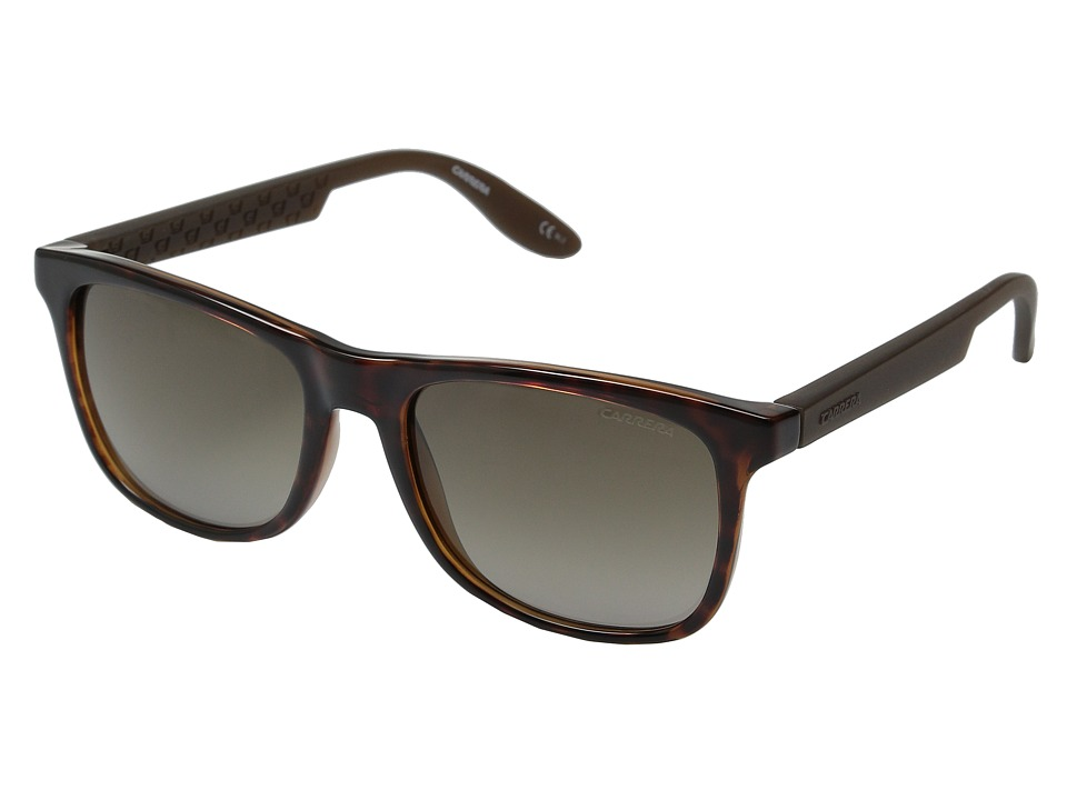 Carrera - Carrera 5025/S (Havana Brown/Brown Gradient) Fashion Sunglasses