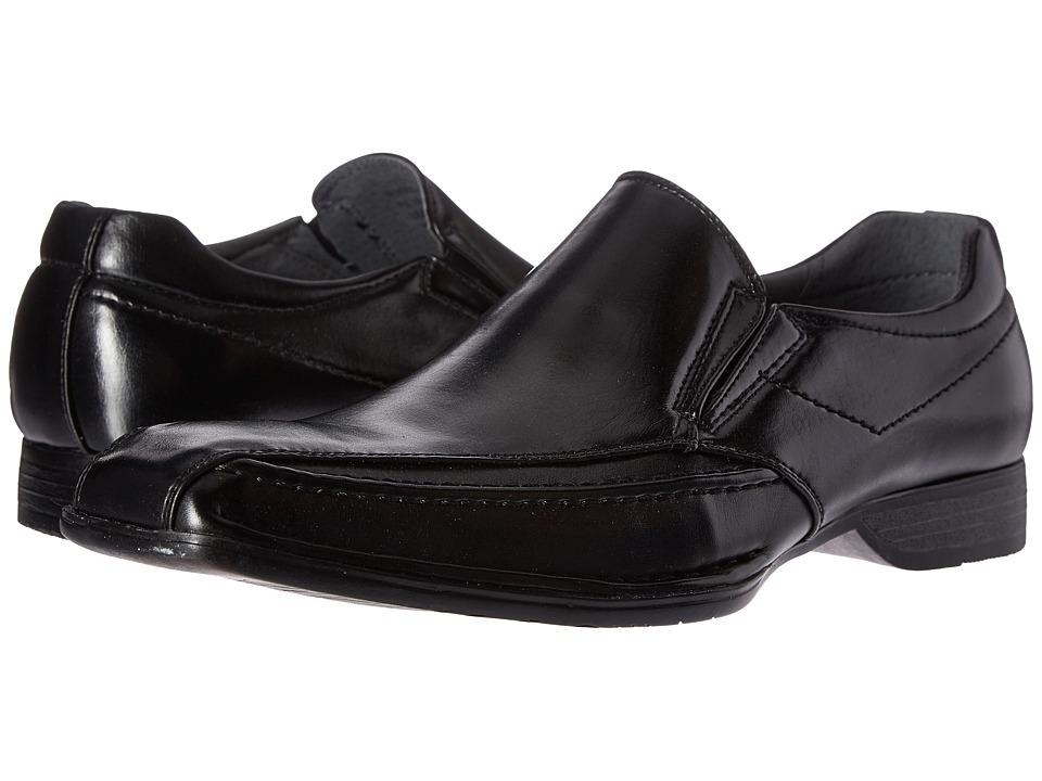 Steve Madden - Simmer (Black) Men's Slip on Shoes