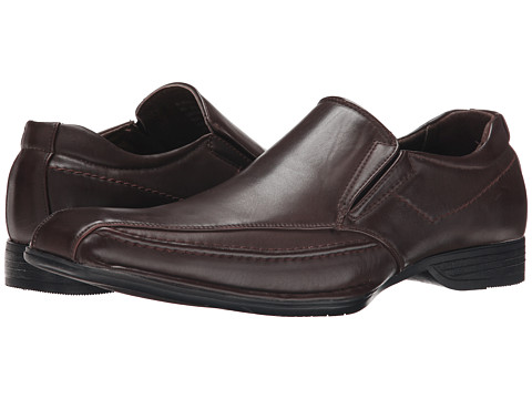 Steve Madden - Simmer (Brown) Men's Slip on Shoes
