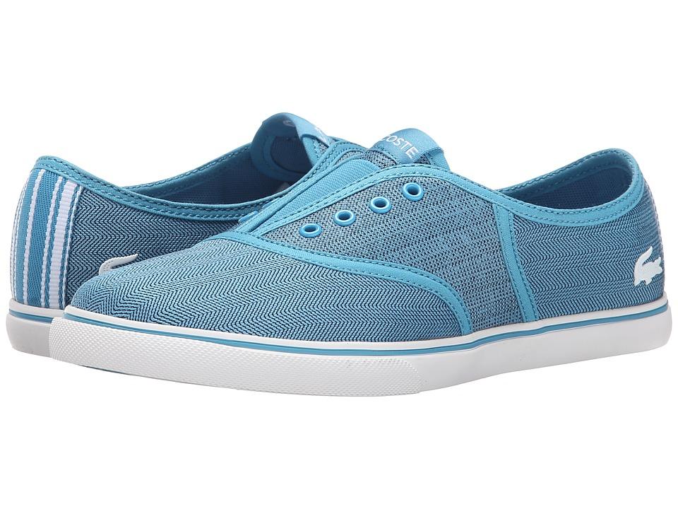 Lacoste - Rene Sleek Slip HPC (Blue/White) Women