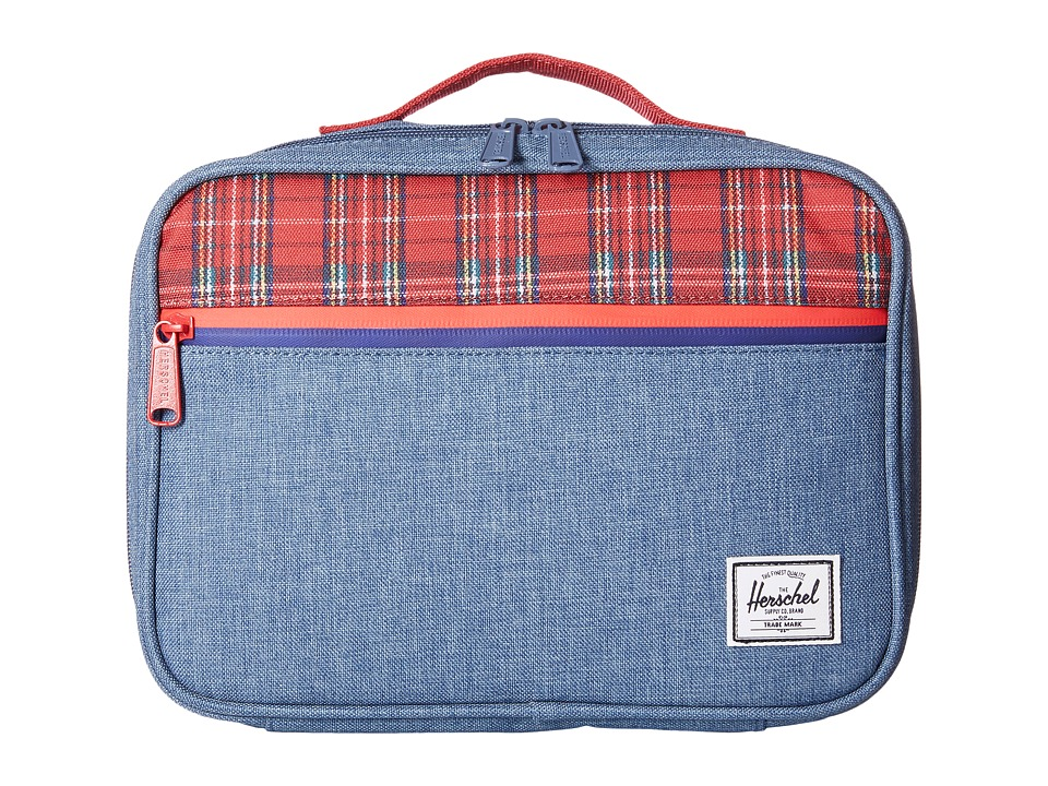 Herschel Supply Co. - Pop Quiz Lunch (Crosshatch Navy) Handbags