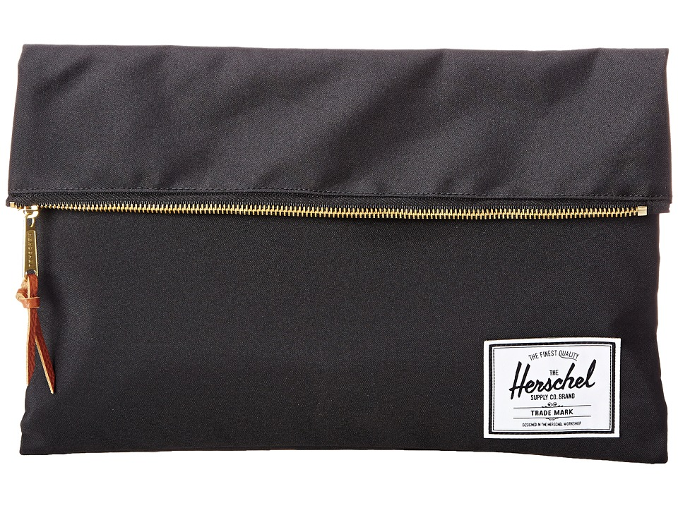 Herschel Supply Co. - Carter Large (Black) Handbags
