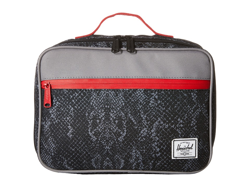 Herschel Supply Co. - Pop Quiz Lunch (Black Snake) Handbags