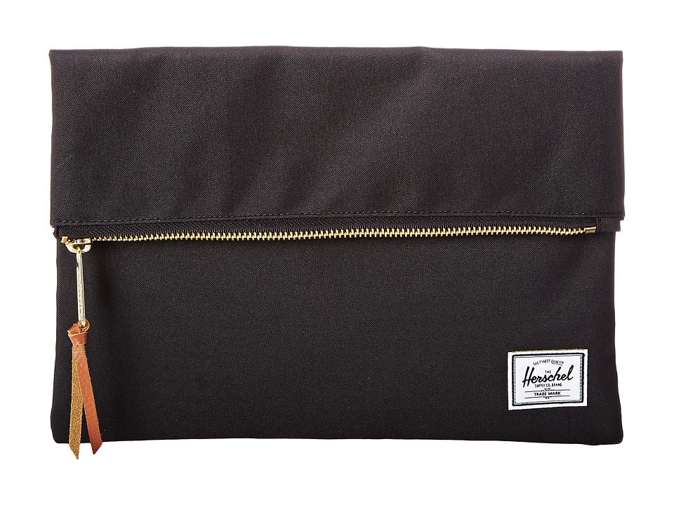 Herschel Supply Co. - Carter Small (Black) Clutch Handbags
