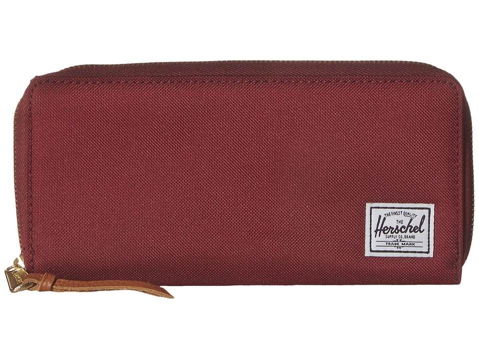 Herschel Supply Co. - Avenue (Windsor Wine) Wallet Handbags