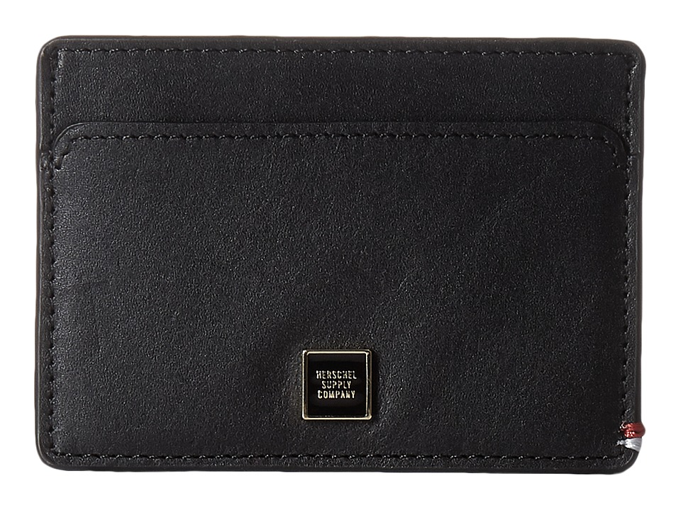 Herschel Supply Co. - Slip (Napa Leather Black) Wallet Handbags