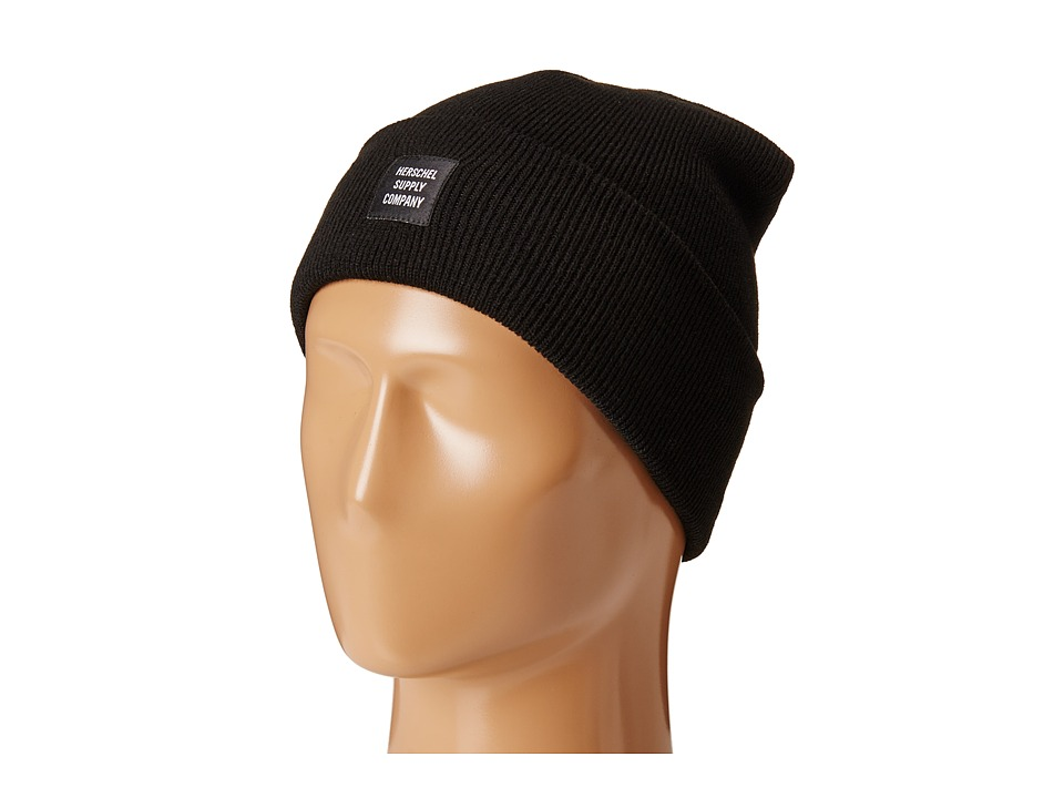 Herschel Supply Co. - Abbott (Black) Beanies