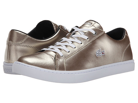 Lacoste - Showcourt Rqt2 (Silver/Silver) Women's Lace up casual Shoes