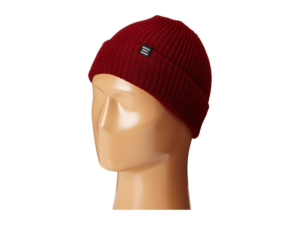 Herschel Supply Co. - Quartz (Windsor Wine) Beanies