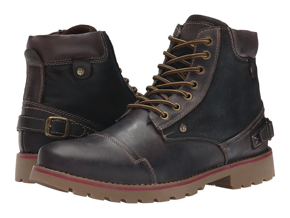 Steve Madden - Classzee (Brown Leather) Men