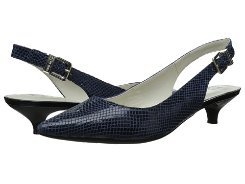 Anne Klein - Expert (Navy Reptile 1) Women's 1-2 inch heel Shoes