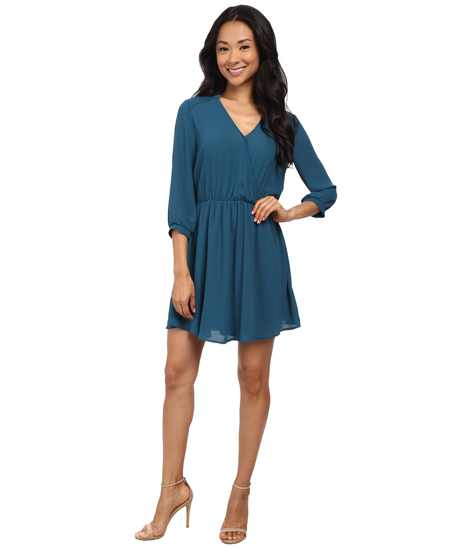 Brigitte Bailey Adira Dress (Blue Coral) Women