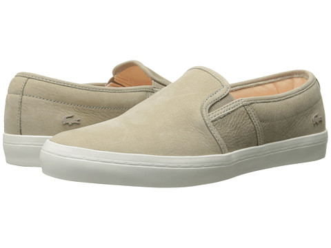 Lacoste - Gazon W Prem (Light Brown) Women's Shoes