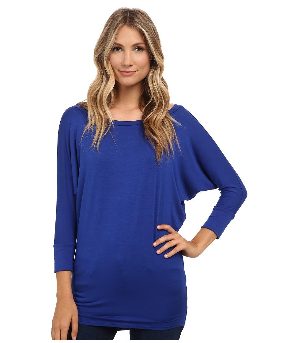 Culture Phit - Lara Modal Top (Cobalt) Women's T Shirt