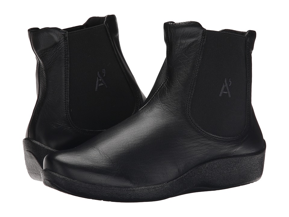 Arcopedico - Chelsea D (Black) Women's Pull-on Boots
