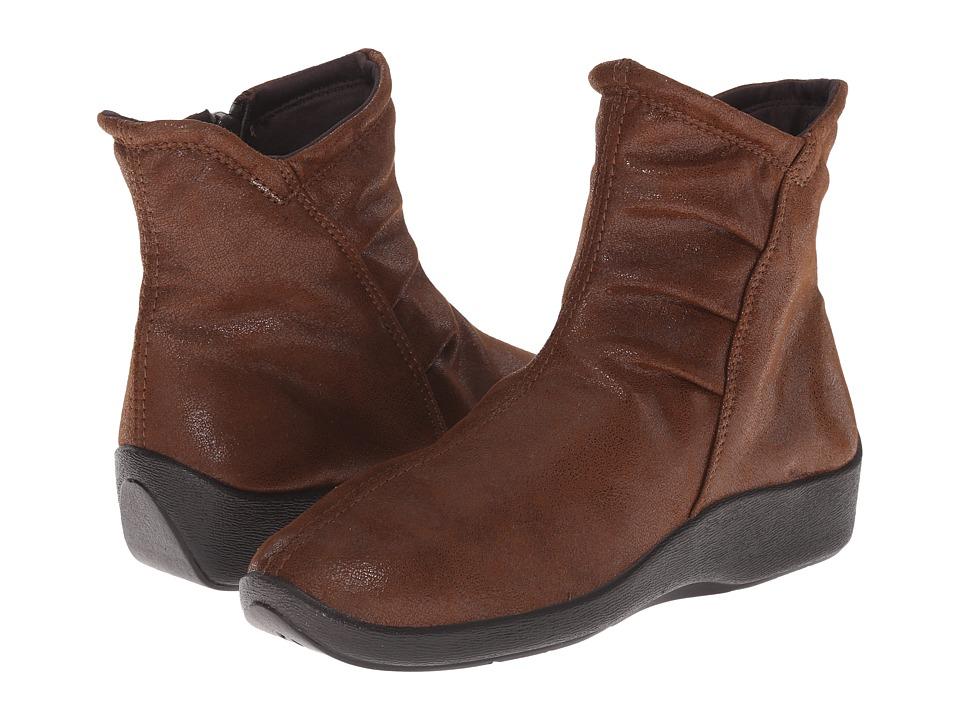 Arcopedico - L19 (Brown) Women's Zip Boots