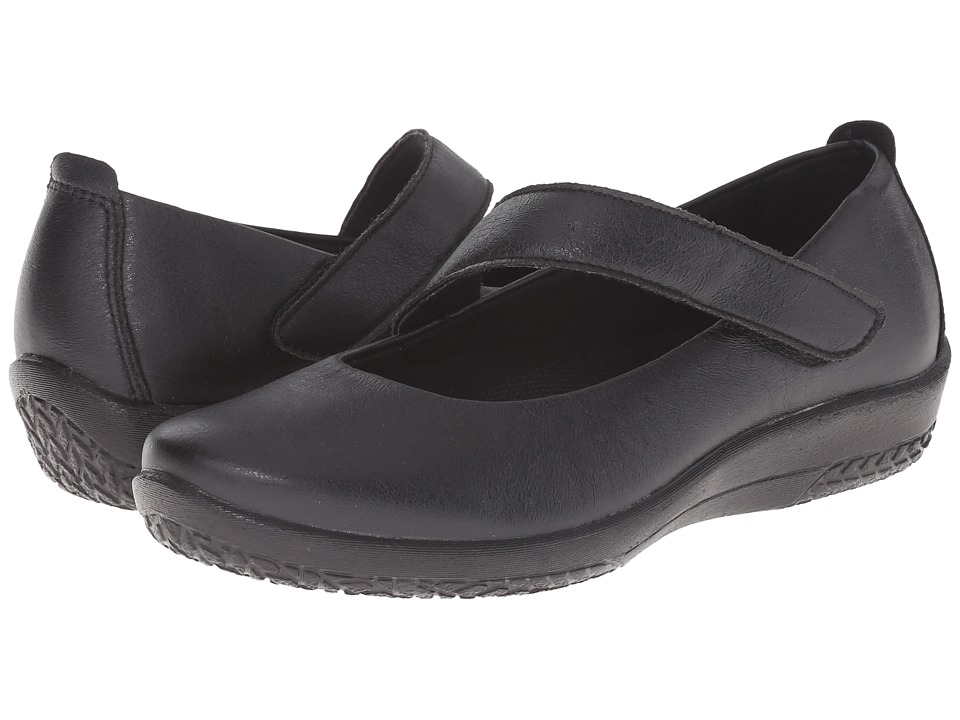 Arcopedico - Lisa (Black) Women's Flat Shoes