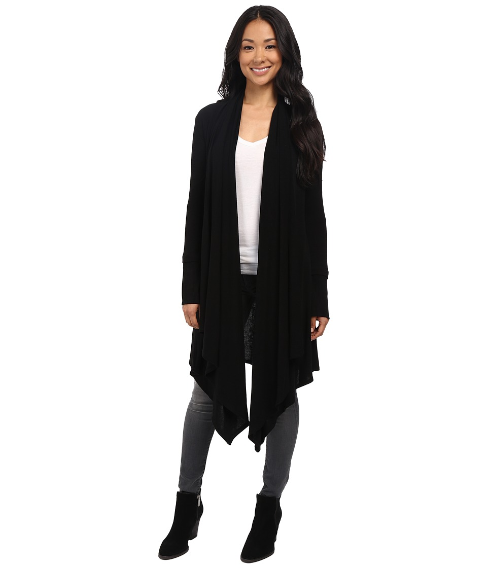 Culture Phit - Carmen Wrap Shawl (Black) Women's Sweater