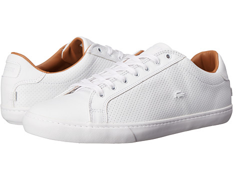 Lacoste - Grad Vulc (White/White) Women's Shoes