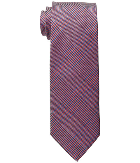 Cufflinks Inc. - Glen Plaid Silk Tie (Red/Blue) Ties