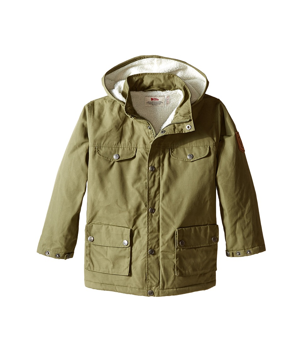 Fjallraven Kids - Kids Greenland Winter Jacket (Green) Kid's Coat