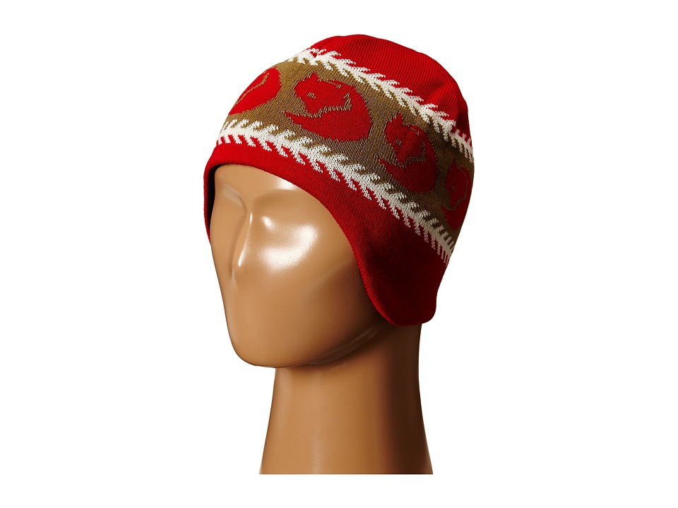 Fj llr ven Kids - Kids Knitted Hat (Red) Knit Hats