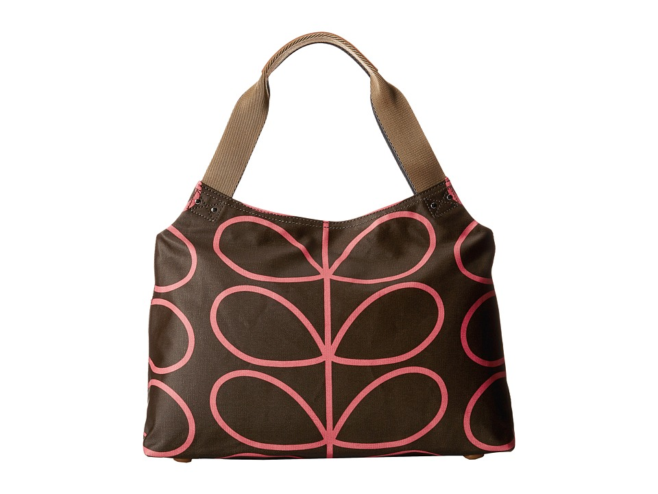 Orla Kiely - Classic Zip Shoulder Bag (Nutmeg) Shoulder Handbags