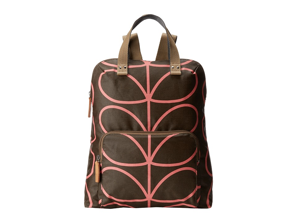 Orla Kiely - Backpack Tote (Nutmeg) Backpack Bags