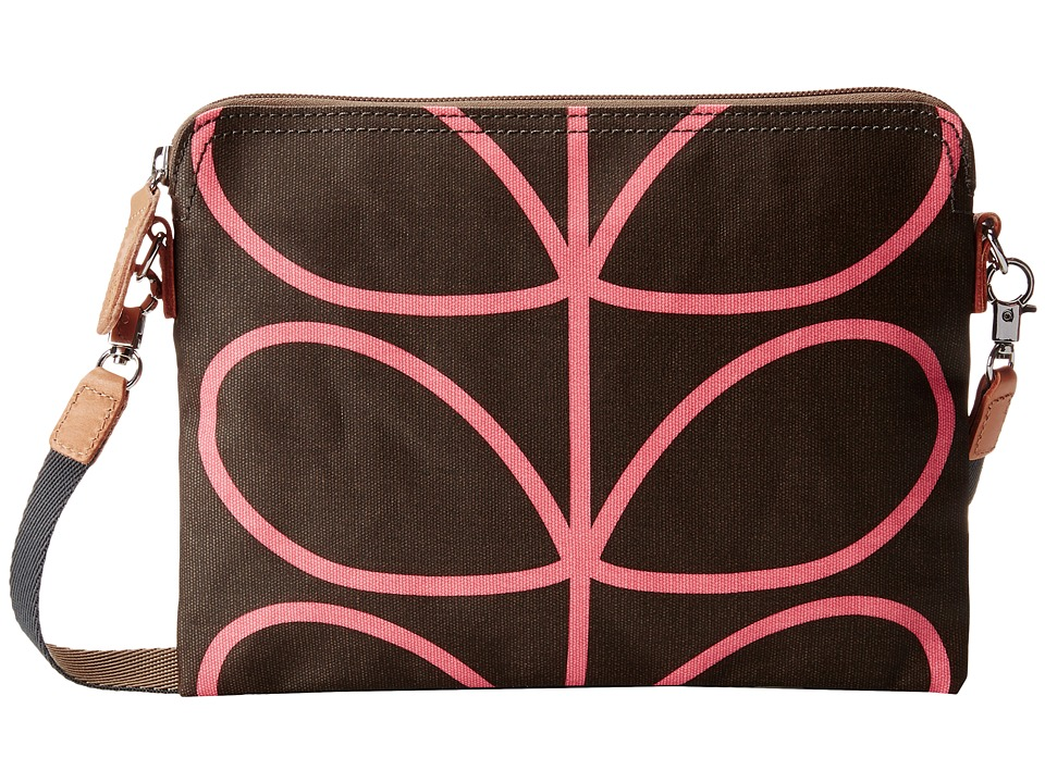 Orla Kiely - Travel Pouch (Nutmeg) Cross Body Handbags