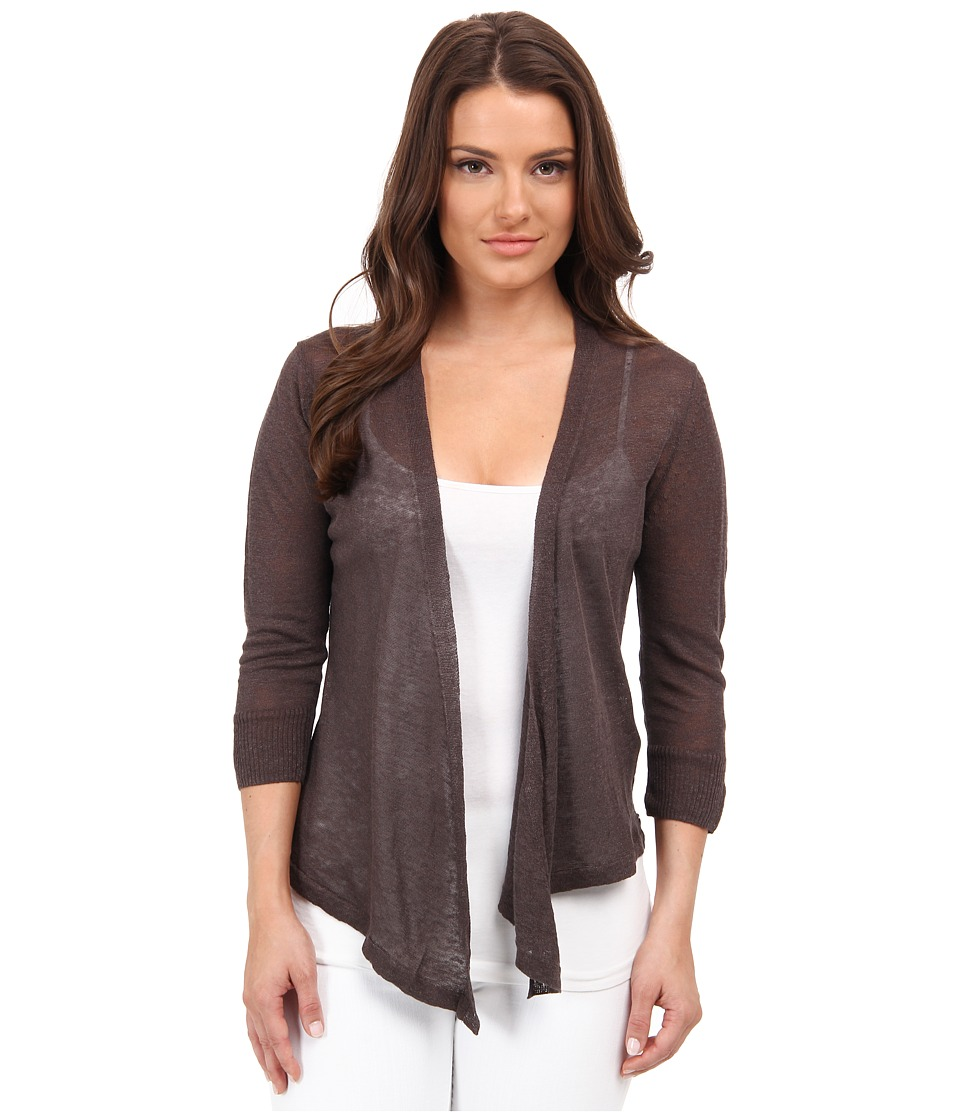 NIC+ZOE - Petite 4 Way Cardy (River Rock) Women's Sweater