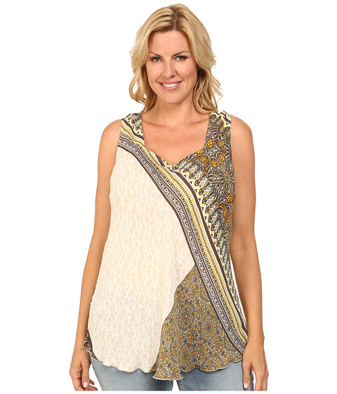NIC+ZOE - Plus Size Under The Sun Top (Multi) Women