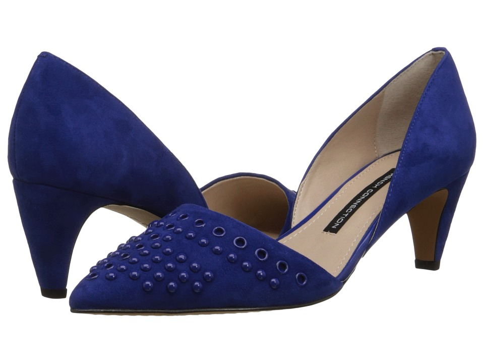 French Connection - Kodee (Monarch Blue Kid Suede) High Heels