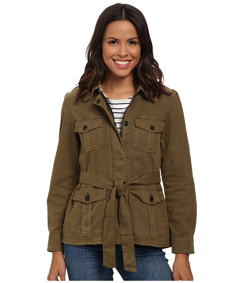 Sanctuary - Street Smart Jacket (Country Green) Women's Coat