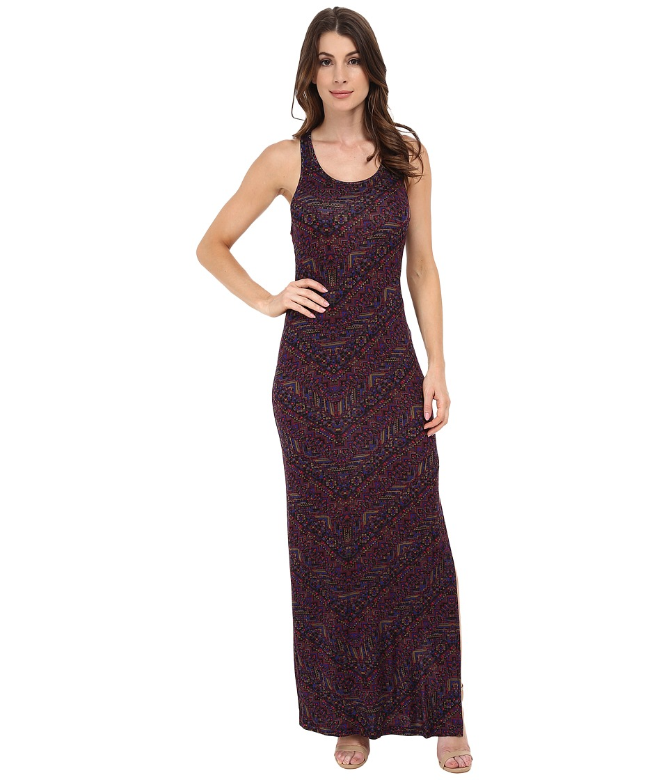 Sanctuary - Racer Maxi Dress (Mosaic Tile) Women