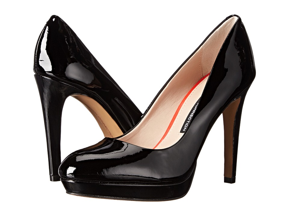 French Connection - Robbie (Black Soft Patent Leather) Women's Shoes