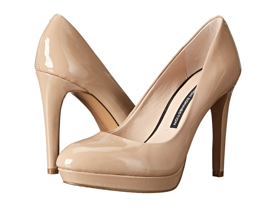 French Connection - Robbie (Almost Nude Soft Patent Leather) Women's Shoes